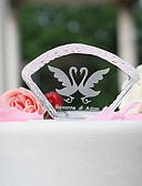 お買い得  ウェディングプレゼント-ケーキトッパー ガーデンテーマ 休暇 クラシックテーマ 結婚式 素材 クリスタル パーティー パーティー/フォーマル 〜と はい