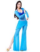 hesapli Göbek Dansı Giysileri-Göbek Dansı Kıyafetler Kadın's Splandeks 22.44inç(57cm) / Balo Salonu