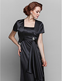 cheap Mother of the Bride Dresses-Stretch Satin Wedding Party Evening Women's Wrap Shrugs