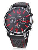 baratos Relógio Elegante-Homens Relógio de Moda Japanês Relógio Casual Silicone Banda Amuleto Preta