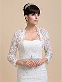 cheap Wedding Dresses-Lace Wedding / Party Evening Wedding  Wraps With Coats / Jackets