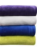 hesapli Gelin Şalları-Mercan Kumaş, Tek Renk Solid %100 Polyester battaniyeler