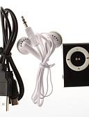 baratos Pulseiras Smart & Monitores Fitness-Tocador de MP3 com Clipe Micro SD Cartão TF