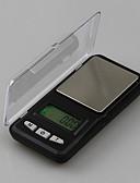 hesapli Spor Saat-Mini elektronik terazi max 500g doğruluk 0.01g dikdörtgen kutu modeli