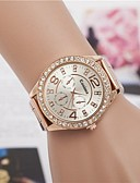 cheap Quartz Watches-Women's Wrist Watch Quartz Alloy Band Analog Sparkle Fashion Silver / Gold / Rose Gold - Silver Golden Rose Gold One Year Battery Life / Jinli 377