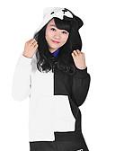 זול ז'קטים-קיבל השראה מ Dangan Ronpa Monokuma וִידֵאוֹ מִשְׂחָק תחפושות קוספליי חולצות קוספליי / תחתון שרוול ארוך מעיל תחפושות