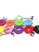 זול מטען כבלים ומתאמים-מיקרו USB כבל 2m-2.99m / 6.7ft-9.7ft פלסטיק מתאם כבל USB עבור סמסונג
