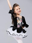 abordables Robe de Patinage-Danse classique Robes et Jupes / Tutu / Hauts Mousseline de soie / Velours Demi Manches / Ballet / Spectacle