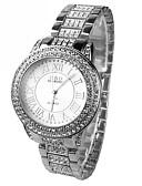 abordables Relojes de Moda-Mujer Reloj de Moda Reloj de Vestir Cuarzo Plata La imitación de diamante Analógico damas Destello - Plata