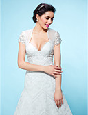 cheap Wedding Dresses-Tulle Wedding / Party Evening Wedding  Wraps With Shrugs