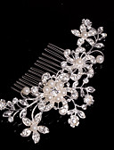 cheap Mother of the Bride Dresses-Alloy Hair Combs / Headwear with Floral 1pc Wedding / Special Occasion / Casual Headpiece