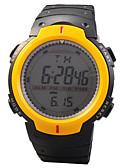 ราคาถูก นาฬิกาสำหรับเด็ก-นาฬิกาอิเล็กทรอนิกส์ (Quartz) ดำ กีฬา - สีเงิน สีเหลือง ฟ้า
