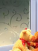 hesapli Kadın Gecelikleri-Pencere Filmi ve Çıkartma Dekorasyon Ülke Ağaçlar / Yapraklar PVC / winyl Pencere Filmi / Yemek Odası / Yatakodası / Oturma Odası