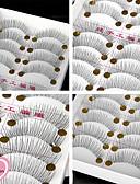 baratos Relógio Esportivo-Cílios Cílios Postiços 20 pcs Volumizado Extra Longo Diário Maquiagem Maquiagem para o Dia A Dia Clássico Cosmético Artigos para Banho & Tosa