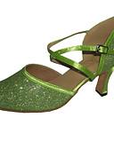 cheap Plus Size Dresses-Modern Women's Ballroom Dance Shoes Customizable