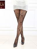 abordables Calcetines y Medias para Mujer-Mujer Panti Fino-Jacquard