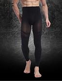 abordables Sous-vêtements & Chaussettes Homme-Homme Nylon / Spandex Couleur Pleine Noir M L