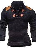 cheap Men's Jackets & Coats-Men's Weekend Long Sleeve Slim Pullover - Color Block