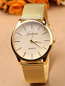 cheap Fashion Watches-Geneva Women's Quartz Wrist Watch Hot Sale Alloy Band Charm Fashion Gold