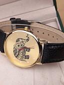 cheap Bracelet Watches-Women's Quartz Wrist Watch Casual Watch PU Band Charm / Fashion Black / White / Pink