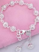 ieftine Cămașă-Pentru femei Cristal Franjuri Sculptură Brățări cu Talismane Bratari Strand - Plastic Minge Modă Brățări Argintiu Pentru Petrecere Zilnic Sport