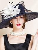 preiswerte Hochzeit Schals-Flachs Hüte mit 1 Hochzeit / Besondere Anlässe Kopfschmuck