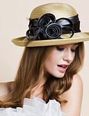 זול 2017ביקיני ובגדי ים-פּוֹלִיאֶסטֶר כובעים עם 1 חתונה / אירוע מיוחד / בָּחוּץ כיסוי ראש
