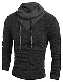 cheap Men's Sweaters & Cardigans-Men's Weekend Active Long Sleeve Wool Long Pullover - Animal Round Neck