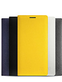זול מגנים לטלפון-מגן עבור OnePlus One Plus 2 מחזיק כרטיסים / מצב שינה / ערנות אוטומטי / נפתח-נסגר כיסוי מלא אחיד קשיח עור PU