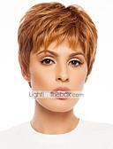 abordables Relojes de Vestir-Pelo humano pelucas sin tapa Cabello humano Ondulado Clásico Alta calidad Sin Tapa Peluca Diario
