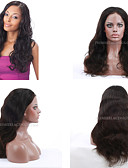 cheap Latin Dance Wear-Human Hair Full Lace / Lace Front Wig Wig Natural Wave 130% Density Natural Hairline / African American Wig / 100% Hand Tied Women's Short / Medium Length / Long Human Hair Lace Wig