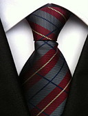 baratos Gravatas e Gravatas Borboleta-Mulheres Festa Trabalho Básico Poliéster, Gravata - Estampado