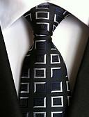 olcso Férfi nyakkendők és csokornyakkendők-Férfi Nyomtatott Poliészter, Party Munkahelyi Alap - Nyakkendő