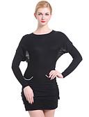 preiswerte Kleider-Damen Fledermaus Ärmel Pullover - Gestreift, Reine Farbe