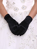 cheap Gloves-Spandex / Polyester Wrist Length Glove Classical / Bridal Gloves / Party / Evening Gloves With Solid