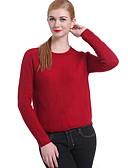 ieftine Bluze Damă-Pentru femei Bumbac Manșon Lung Plover - Mată Stil Nautic