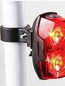 tanie Modne czapki i kapelusze-Tylna lampka rowerowa / światła bezpieczeństwa / Światła tylne LED - Kolarstwo Wodoodporne, LED Light, Łatwe przenoszenie AAA 400 lm Bateria Kolarstwo