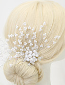 cheap Bridesmaid Dresses-Crystal / Imitation Pearl / Alloy Hair Combs with 1 Wedding / Special Occasion Headpiece
