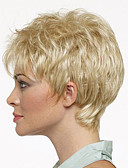 cheap Fashion Watches-Synthetic Wig Wavy Synthetic Hair Blonde Wig Women's Short Capless