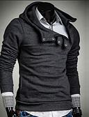 preiswerte Herren Pullover-Herrn Schick & Modern Langarm Mit Kapuze Kapuzenshirt - Moderner Stil, Solide