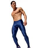 baratos Moda Íntima Exótica para Homens-Homens Activo Justas / Skinny Calças Esportivas Calças - Sólido