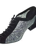 baratos Biquínis e Roupas de Banho Femininas-Mulheres Sapatos de Dança Moderna / Dança de Salão Cetim / Courino Sandália / Salto Presilha Salto Robusto Não Personalizável Sapatos de