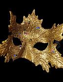 preiswerte Hübsche sexy Damenkleidung-Karnival Maske Herrn Damen Halloween Karneval Fest / Feiertage Halloween Kostüme Austattungen Silber / Rote / Rose