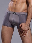 cheap Men's Underwear & Socks-Men's Ultra Sexy Panties Solid Color Mid Waist