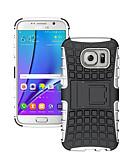hesapli Cep Telefonu Kılıfları-Pouzdro Uyumluluk Samsung Galaxy S8 Plus / S8 / S7 edge Şoka Dayanıklı / Süslü Arka Kapak Zırh PC