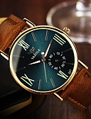 cheap Men's Ties & Bow Ties-YAZOLE Men's Wrist Watch Casual Watch Leather Band Casual Brown / Stainless Steel / SSUO 377