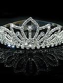 cheap Wedding Veils-Bridal Wedding Princess Pageant Prom Crystal Tiara Crown Headband