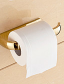 cheap Fashion Scarves-Toilet Paper Holder Contemporary Brass 1 pc - Hotel bath