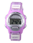 cheap Quartz Watches-Sport Watch Digital Watch Digital Casual Watch Fabric Band Digital Charm Fashion Blue / Purple - Purple Blue