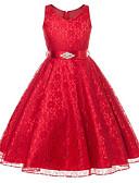 preiswerte Hemd-Mädchen Zum Kleid Ausgehen Ärmellos Kleid